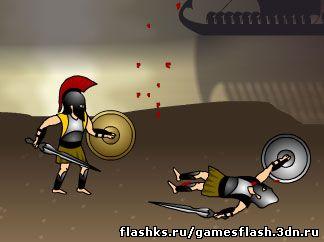 Флеш игра Ахиллес